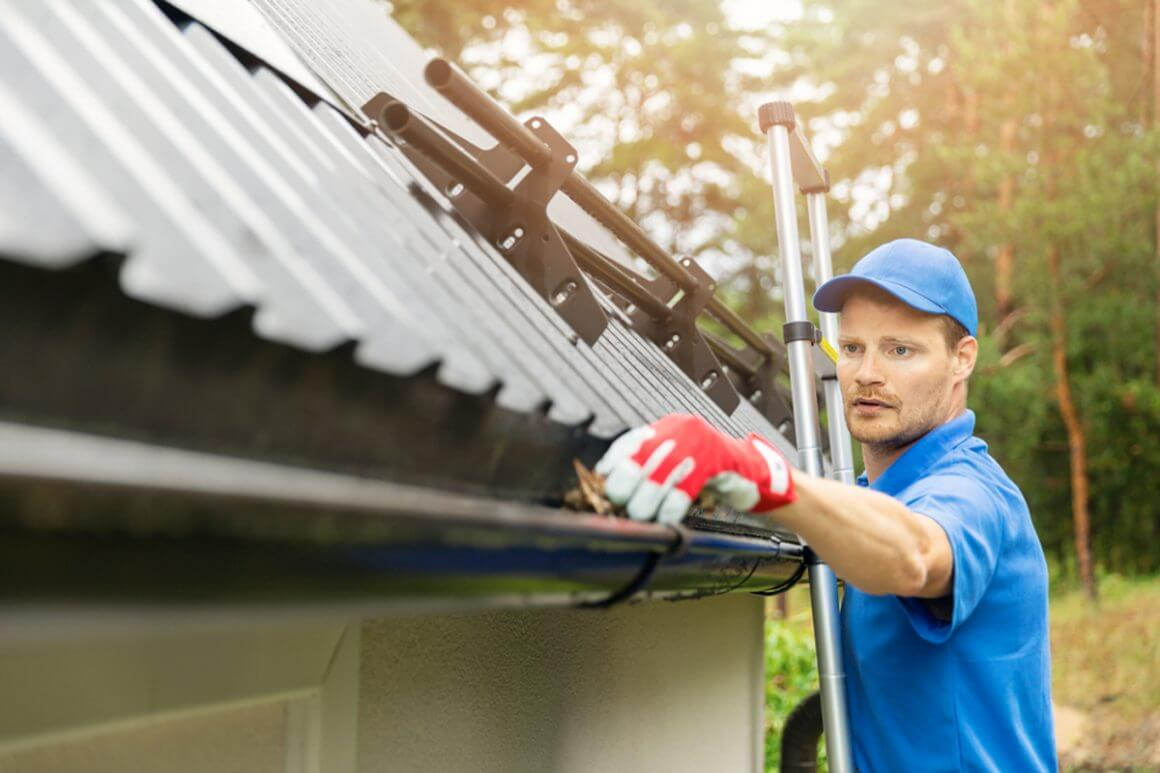 Gutters & Drain Cleaning